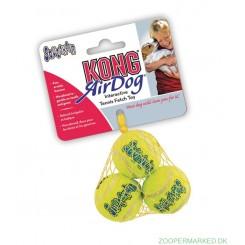 KONG AirDog Squeakair Tennisbold, 4 cm, 3 stk