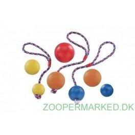 Bold med reb, massiv gummi, 6,5 cm