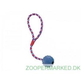 Bold med nubber og reb, massiv gummi, 7 cm