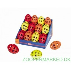 Gitterbold med bold og klokke 11 cm