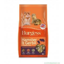 BURGESS HAMSTER & GERBIL FODER 700 G